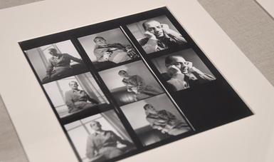 """Parte de la exposición """"Leo Matiz, el muralista de la lente""""."""