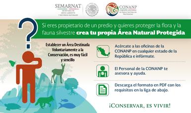 Áreas Destinadas Voluntariamente a la Conservación