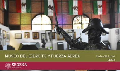Imágenes de los museos y bibliotecas del Ejército Mexicano.