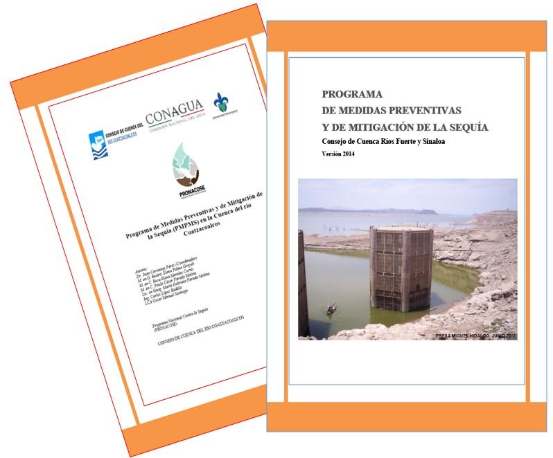 Programas de Medidas Preventivas y de Mitigación a la Sequía (PMPMS) por Consejo de Cuenca