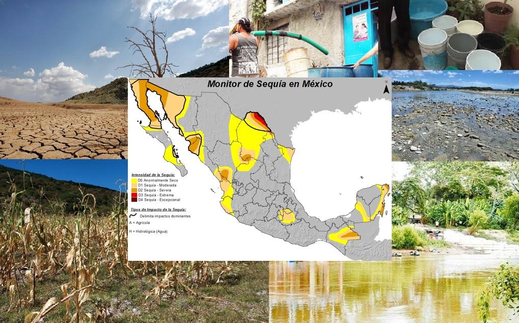 Monitoreo de la Sequía