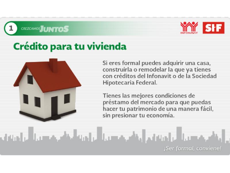 Crezcamos Juntos Sociedad Hipotecaria Federal