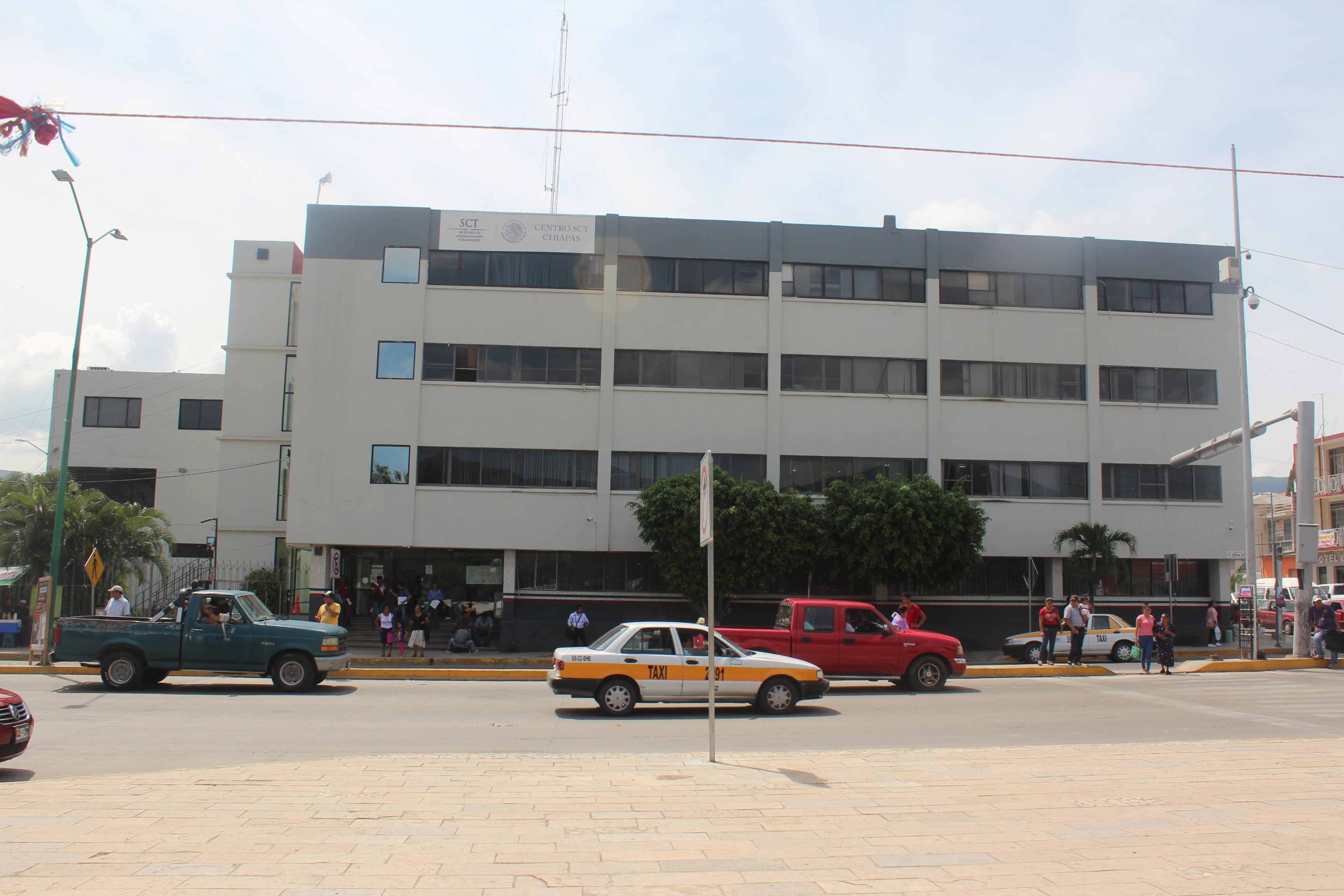 Centro SCT Chiapas