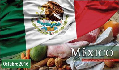 México productor agroalimentario