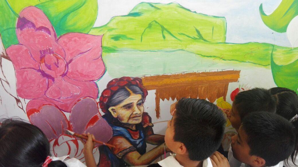 El Indesol realizó la estrategia Ponle Color a través del Programa de Apoyo a las Instancias de Mujeres en las Entidades Federativas