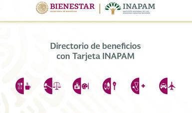 Directorio de beneficios y descuentos con su Tarjeta INAPAM