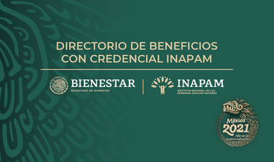 Directorio de beneficios y descuentos con su crendecial INAPAM