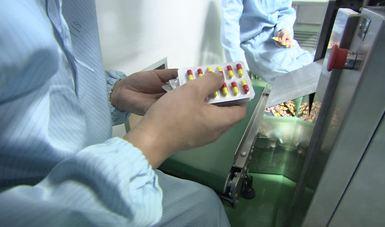 Producción, almacenamiento y distribución de medicamentos.