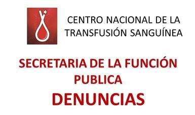 Secretaria de la Función Publica DENUNCIAS