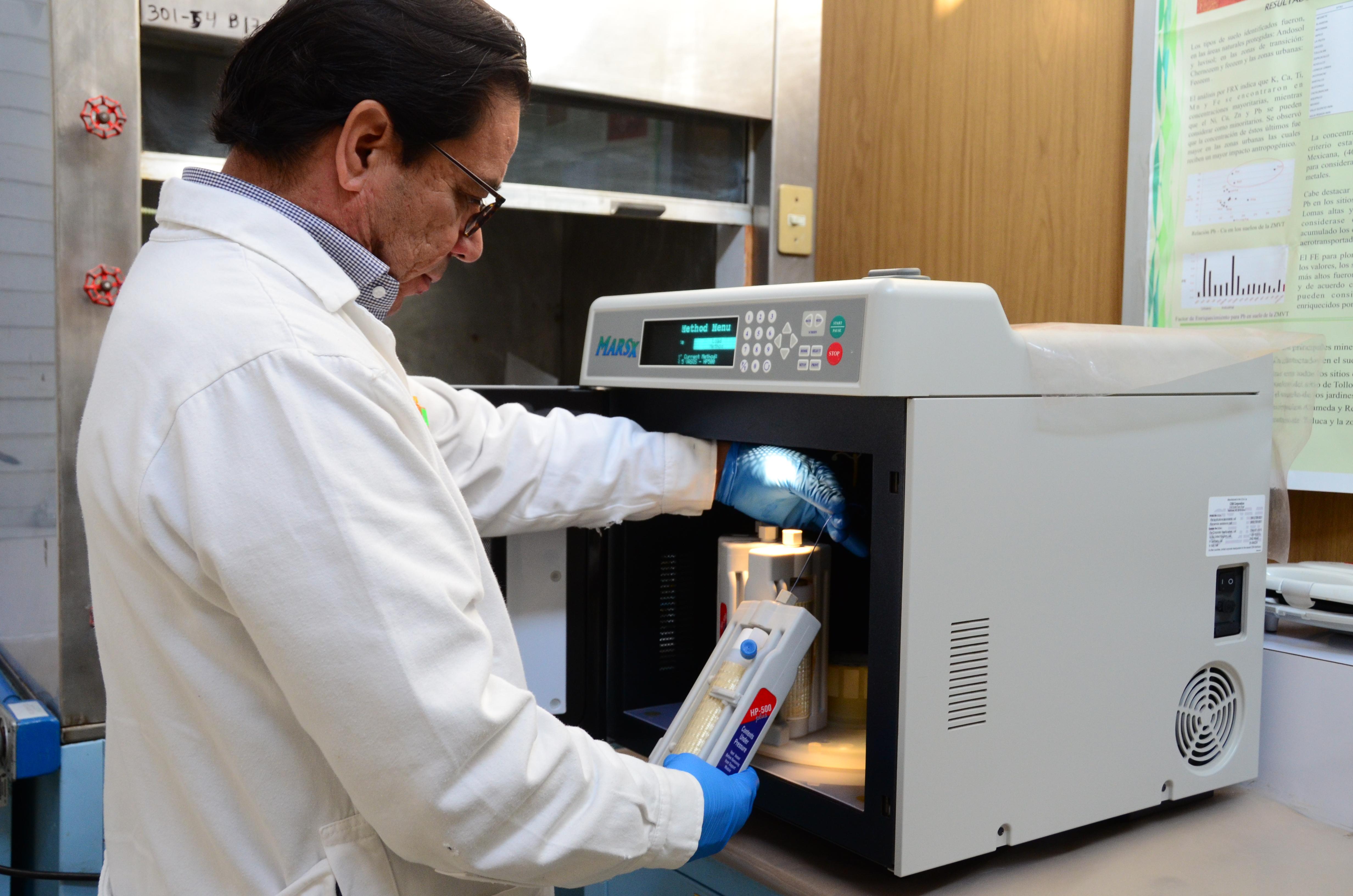 Laboratorio de fluorescencia de rayos X