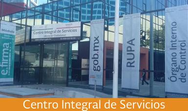 Entrada del Centro Integral de Servicios de la COFEPRIS