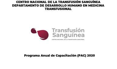 Programa Anual de Capacitación (PAC) 2020