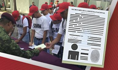 Conscriptos del Servicio Militar Nacional.
