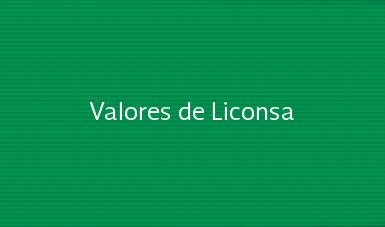 Valores de Liconsa