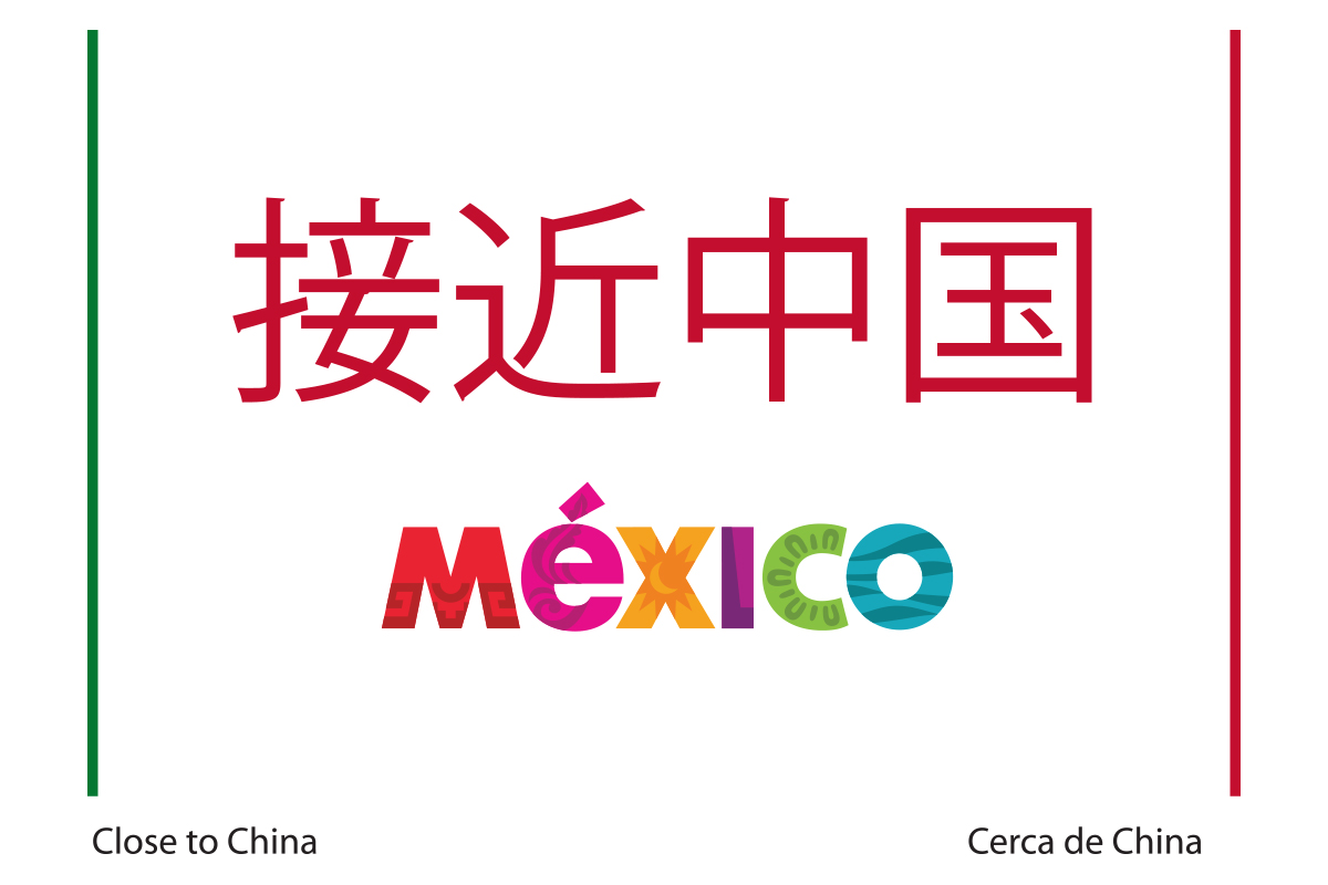Sello Cerca de China - Turismo Chino