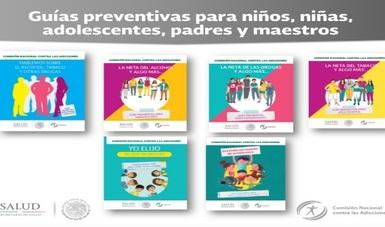 CONADIC presenta guías preventivas para niños, niñas, adolescentes, padres y maestros.