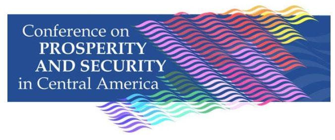 La cooperación mexicana hacia Centroamérica coordinada por la AMEXCID fue un componente central en este segmento de la Conferencia.