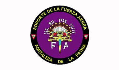 Heráldica de la Escuela Militar de Tropas Especialistas de la Fuerza Aérea.
