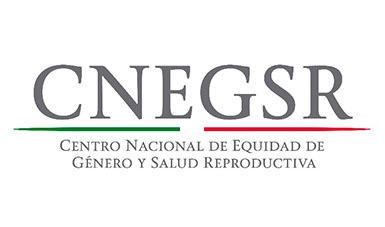 Logotipo de la Cento Nacional de Equidad de Género y Salud Reproductiva.
