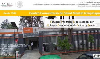 Centro Comunitario De Salud Mental Iztapalapa Servicios De