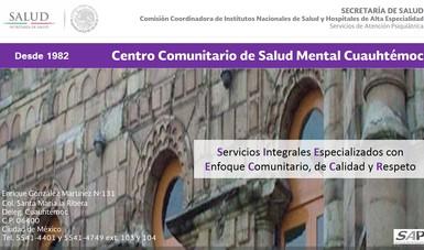 Atención en salud mental a personas con problemas psiquiátricos y del comportamiento.