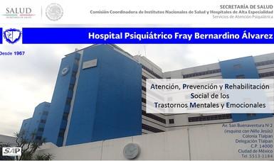 Atención en salud mental para personas con problemas psiquiátricos y del comportamiento.