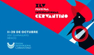Imagen del cartel de la edición del Festival Internacional Cervantino 2017