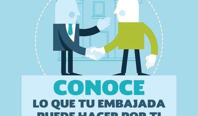 ¿Sabes lo que SÍ puede hacer tu embajada o consulado por ti?