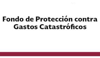 Fondo de Protección contra Gastos Catastróficos