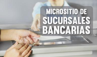 Micrositio Sucursales Bancarias