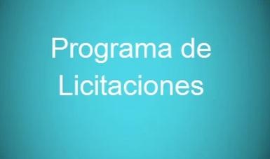 Programa de Licitaciones 2018