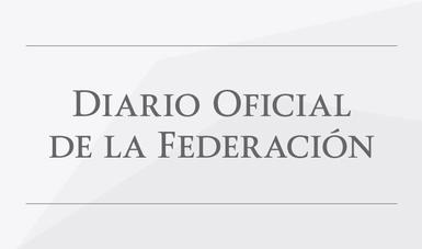 La SE en el Diario Oficial de la Federación (DOF)