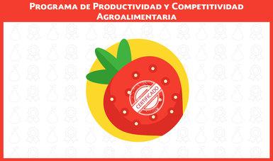 Programa de Productividad y Competitividad Agroalimentaria 2018