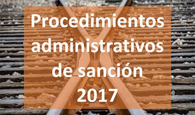 Procedimientos Administrativos de Sanción