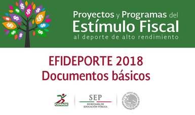 Documentos Básicos EFIDEPORTE 2018
