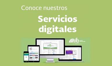 Servicios digitales. Radio Educación