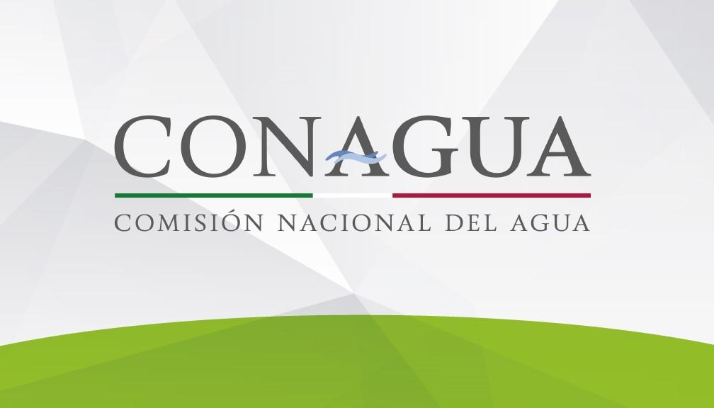 Logotipo oficial de la Comisión Nacional del Agua (CONAGUA) en los Estados Unidos Mexicanos.