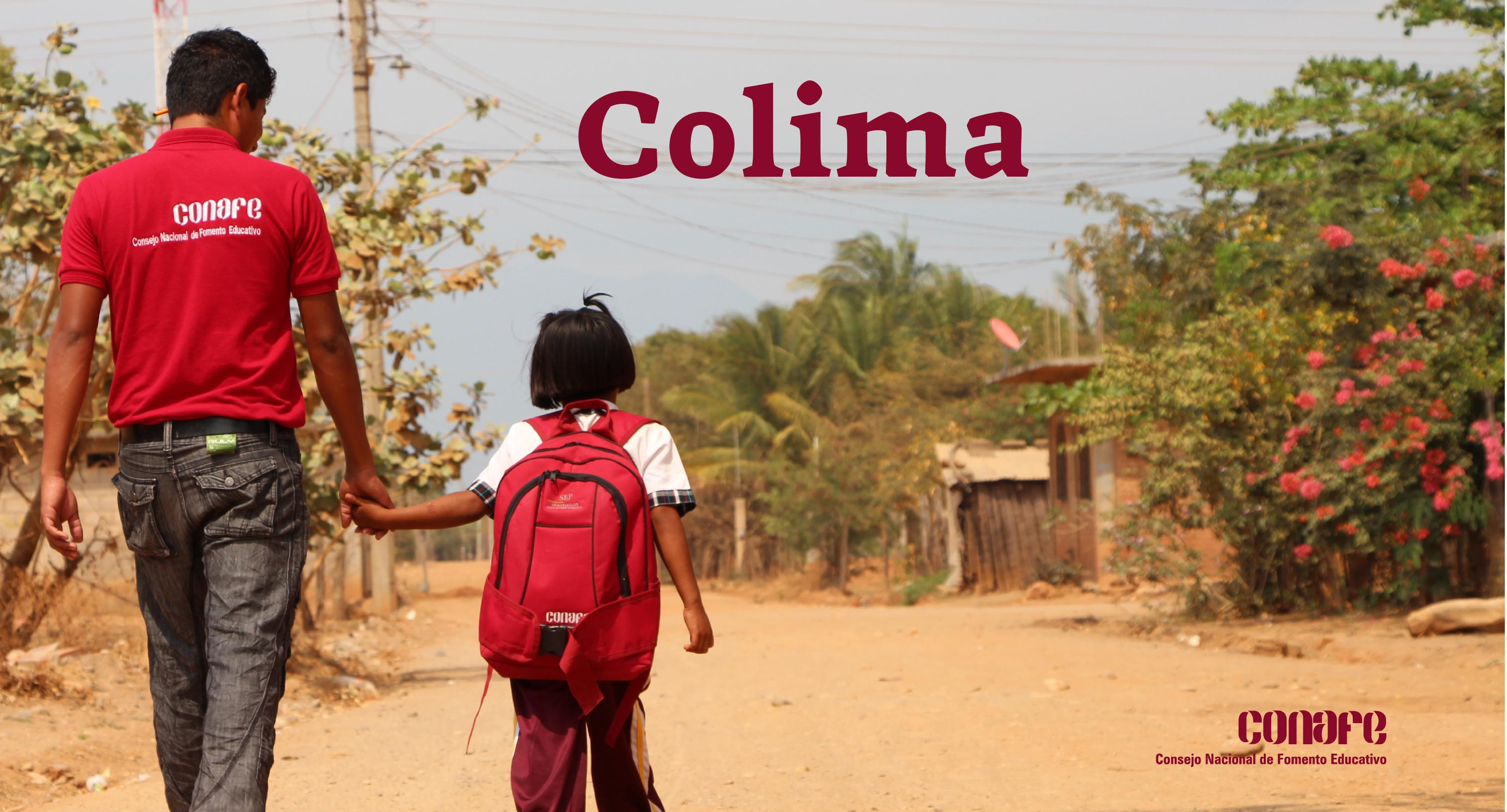 Delegación Conafe Colima