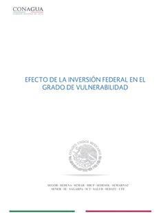 Informe del efecto de inversión de los programas federales.