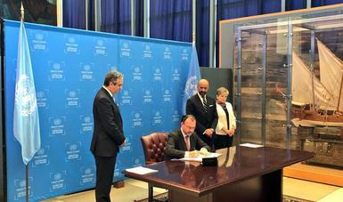 Firma del Acuerdo de Escazú