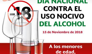 15 de noviembre, Día Nacional contra el Uso Nocivo del Alcohol.