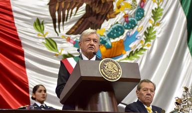 Discurso del Lic. Andrés Manuel López Obrador durante su toma de protesta ante el Congreso de la Unión