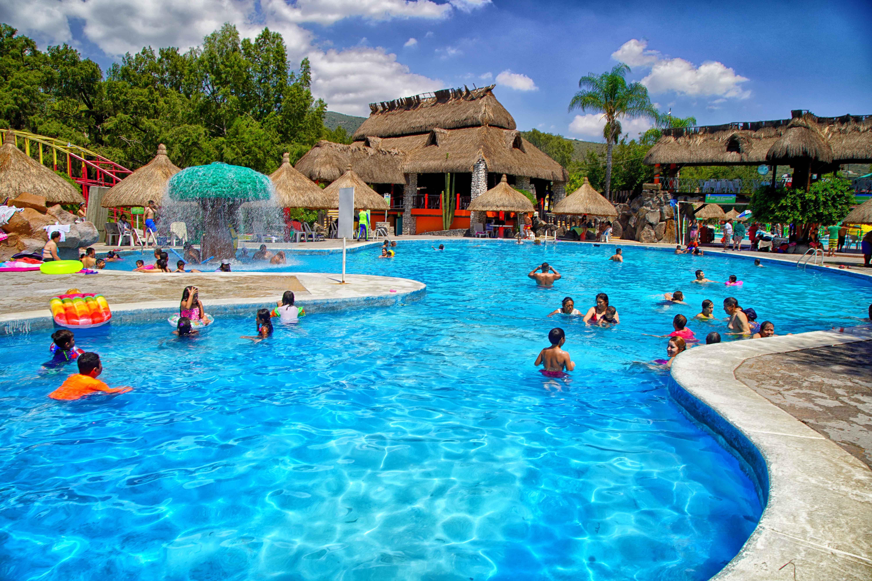 El Parque Ecológico Acuático en Tlacotlapilco, Hidalgo, recibe unos 200 mil visitantes al año.