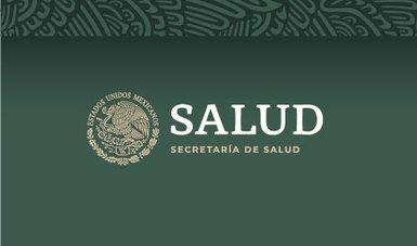 Logotipo de la Secretarìa de Salud.