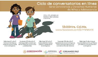 Abril y Julio presentan una de las acciones por la contingencia COVID 19: conversatorios en línea.
