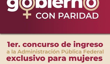 Función Pública reactiva convocatoria del Servicio Profesional de Carrera exclusiva para mujeres