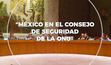 Sección sobre México en el Consejo de Seguridad de la ONU
