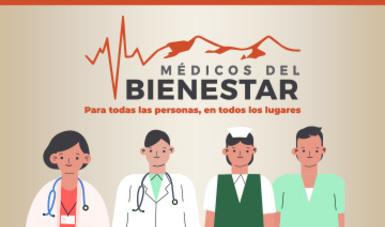 Médicos del Bienestar, no se dejen sorprender
