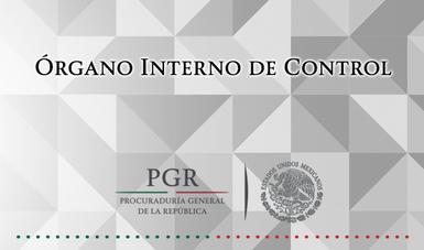 Rgano interno de control procuradur a general de la for Organo interno codycross