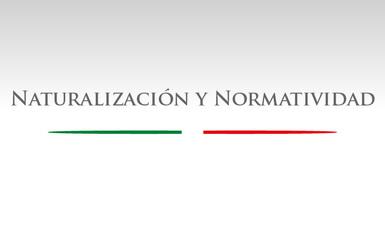 Naturalización y Normatividad